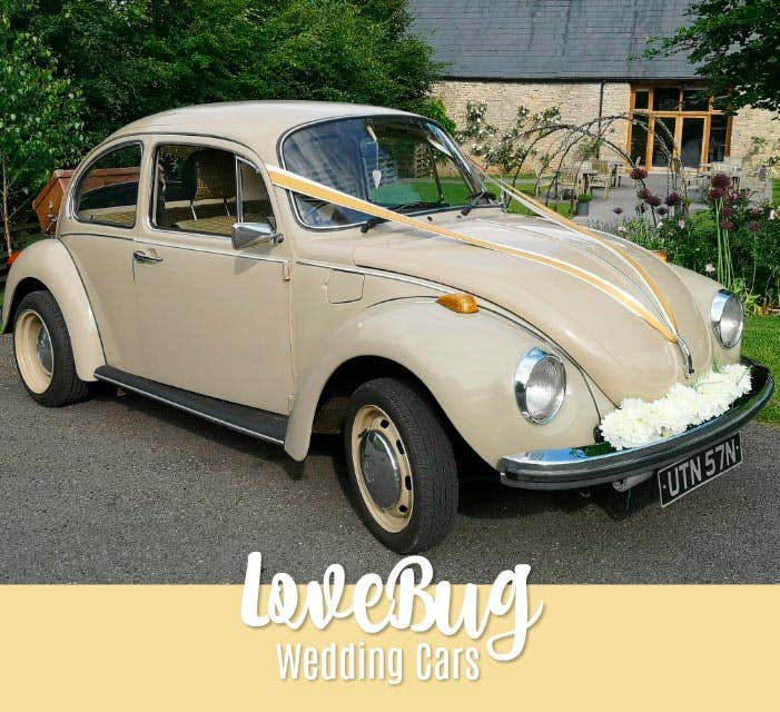 Love Bug Wedding Cars