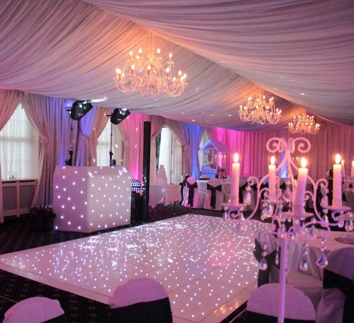 Sheffield Wedding DJ & Décor