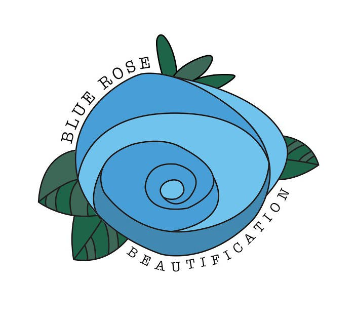 Blue Rose Beautification