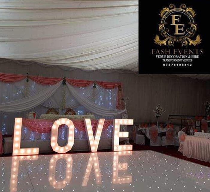 Fash Events & Venue decor