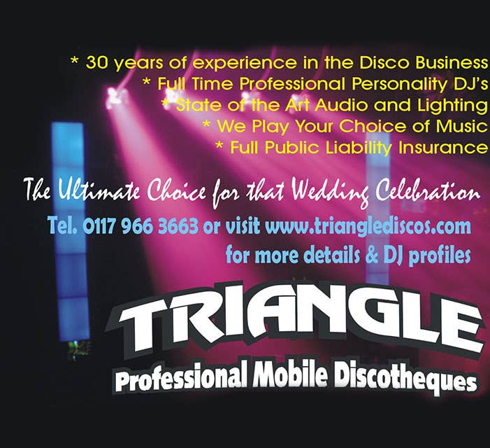 Triangle Mobile Discos