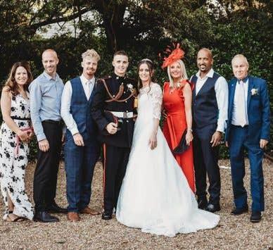 Echte Hochzeiten: Eine elegante Stadthaushochzeit