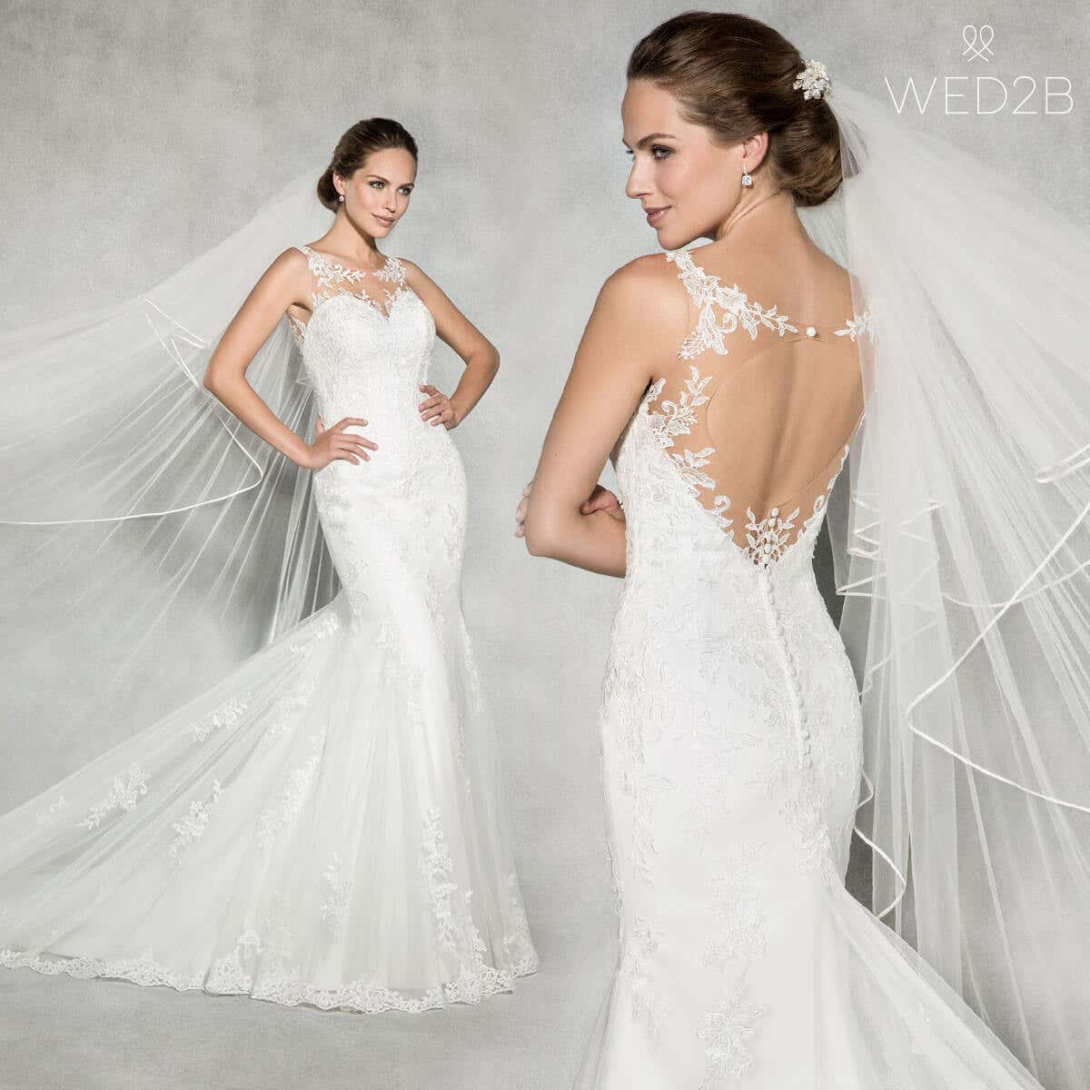 A wedding dress style guide for tall brides - WED5B UK BLOG