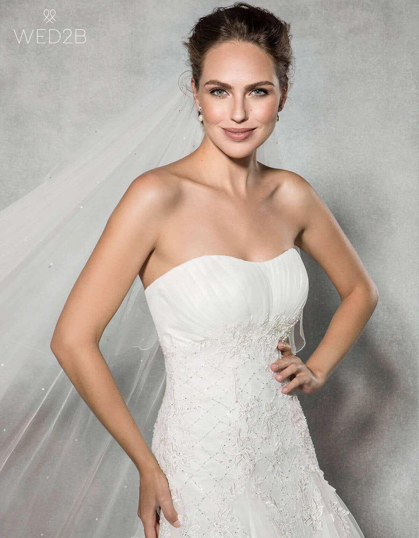 diamante wedding veil