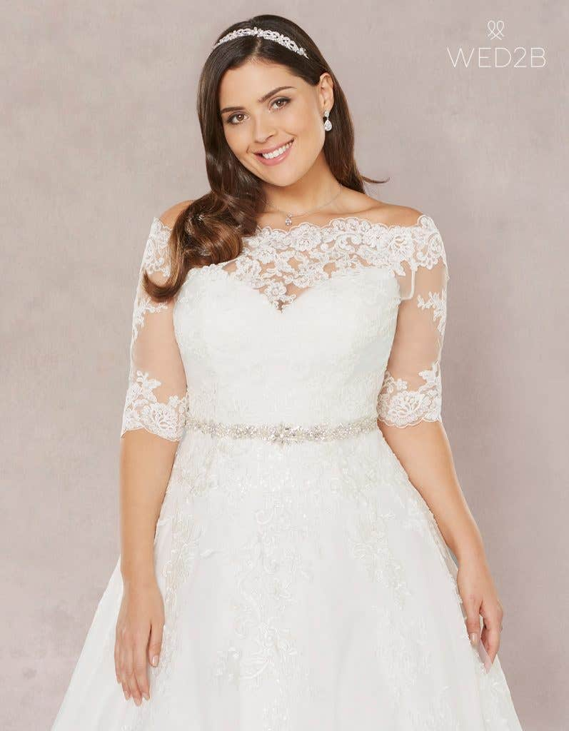 plus size wedding dresses 2018