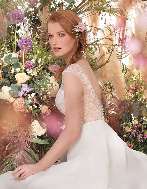 Darian by Viva Bride, the perfect wedding dress for a Spring wedding