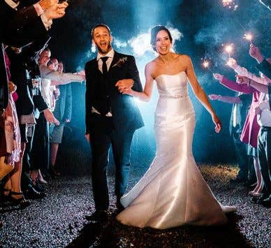 Real Weddings Bromley: Emma and Gee's rustic autumn wedding