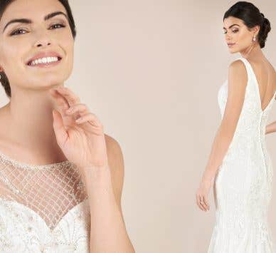 Find the perfect lace wedding dress UK