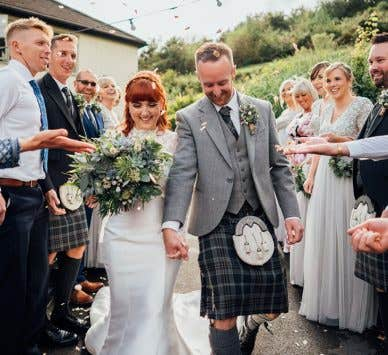 Real Weddings Exeter: Laura and Stuart's elegant mill wedding venue