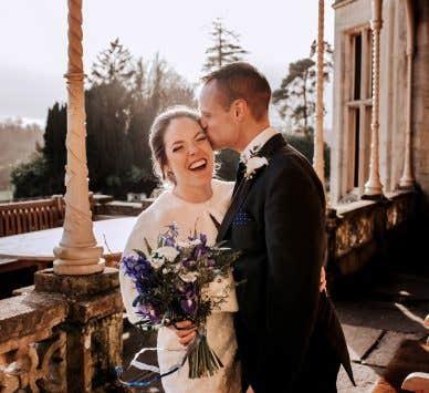 Echte bruiloften:  De rustieke, milieuvriendelijke bruiloft van Jenna en Andrew