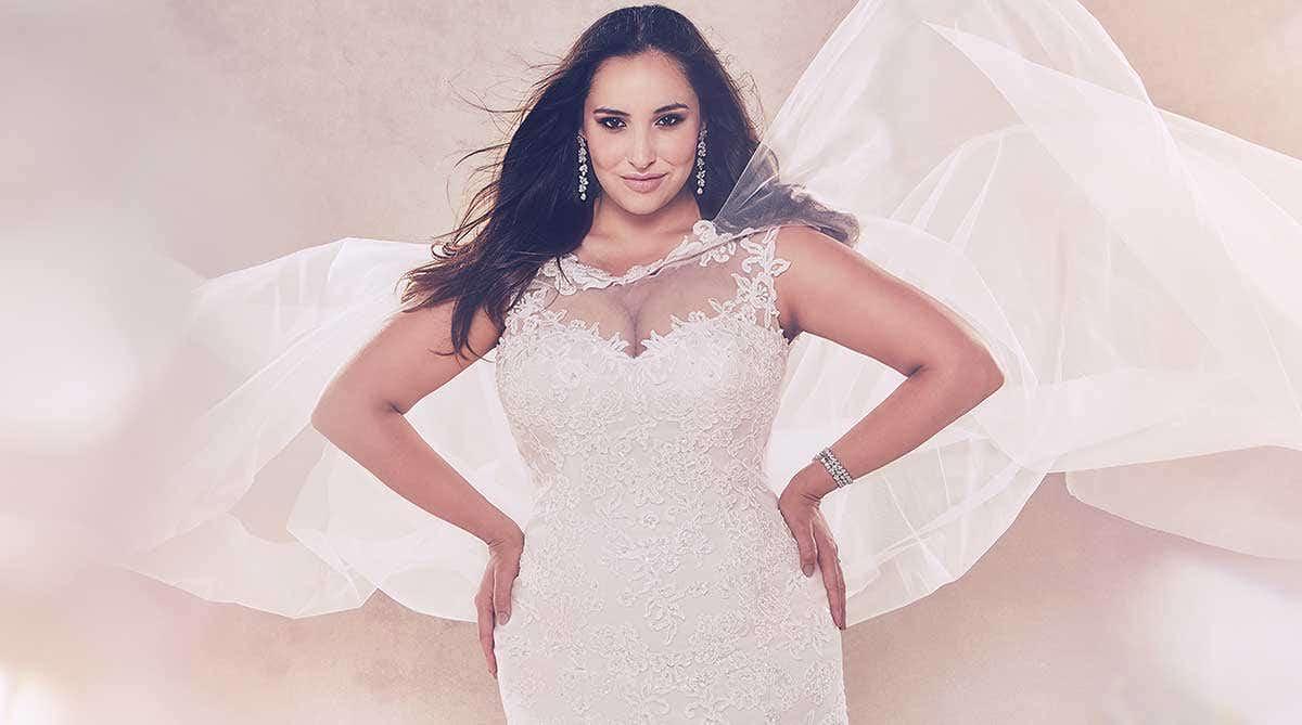 Your Bellami plus size wedding dresses