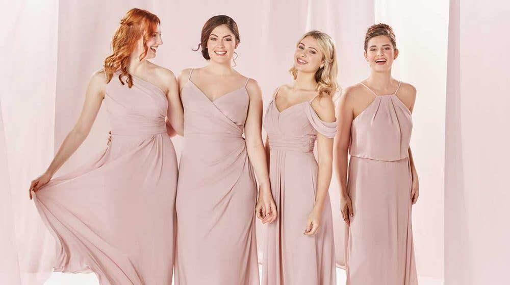 The Edit: Pink Bridesmaid Dresses
