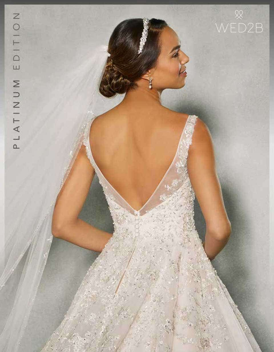 Devotion to detail: Embroidered and detailed wedding dresses | WED2B ...