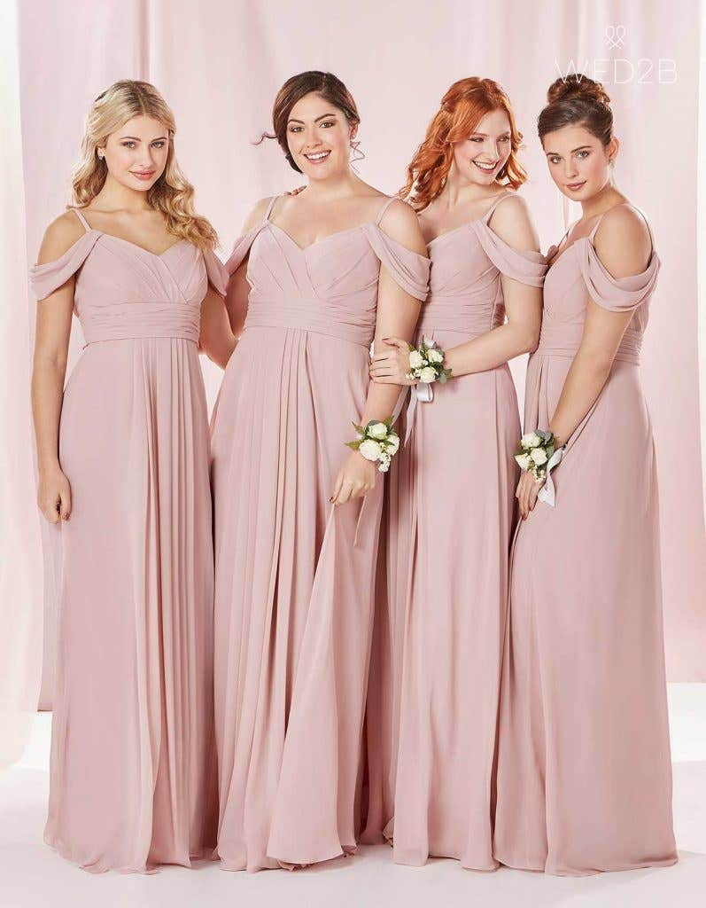The Edit: Pink Bridesmaid Dresses | WED2B-UK-BLOG