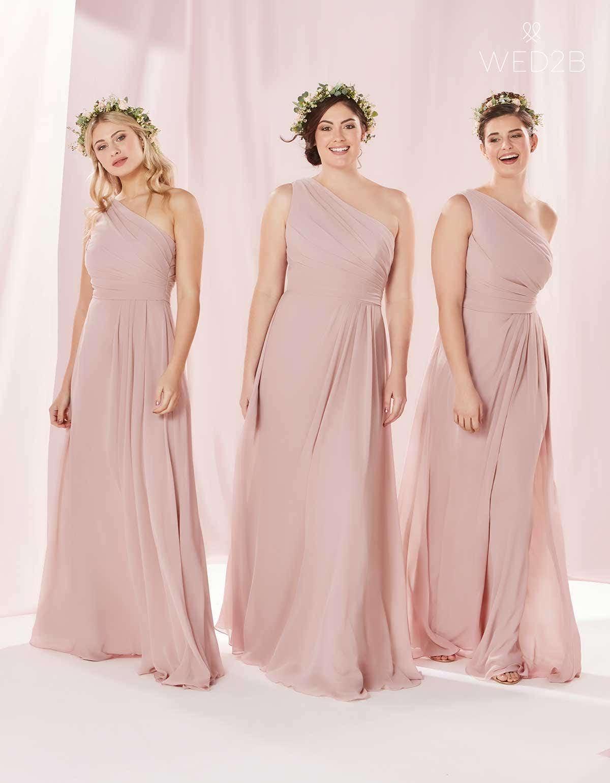 Excelente Amsale Las Damas De Honor Regalo - Colección de Vestidos ...