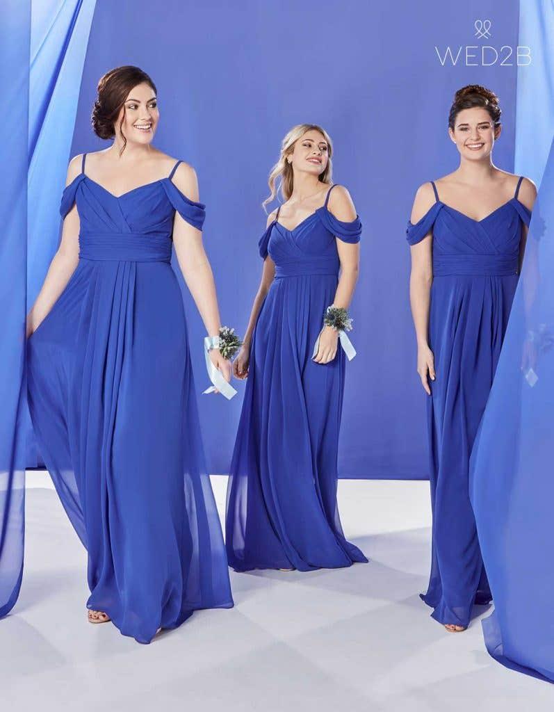 The Edit: Blue Bridesmaid Dresses | WED2B-IE-BLOG