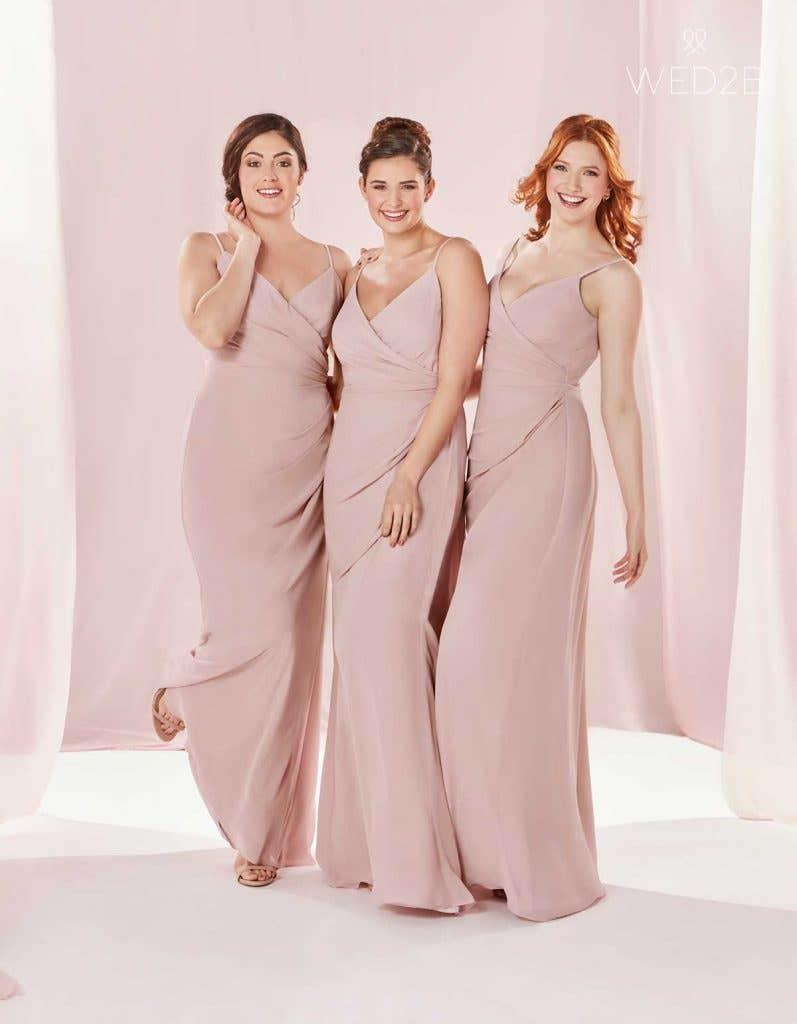 The Edit: Pink Bridesmaid Dresses | WED2B-UK-BLOG