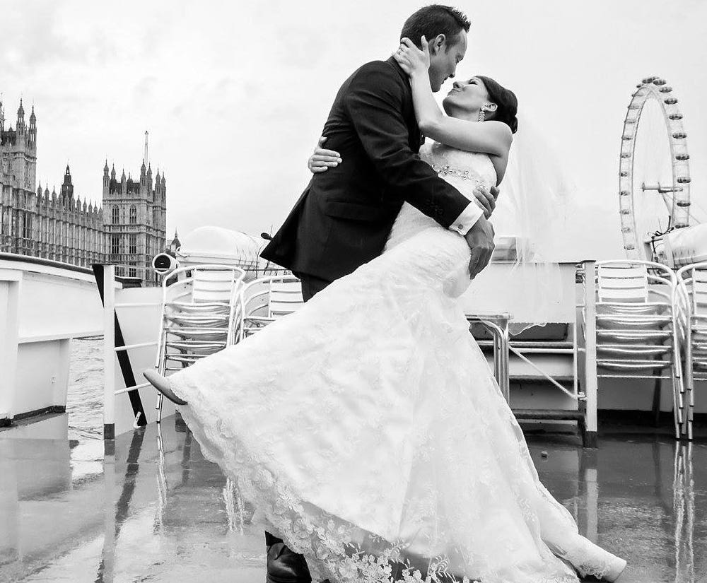 Real Weddings in London - Janine's Story