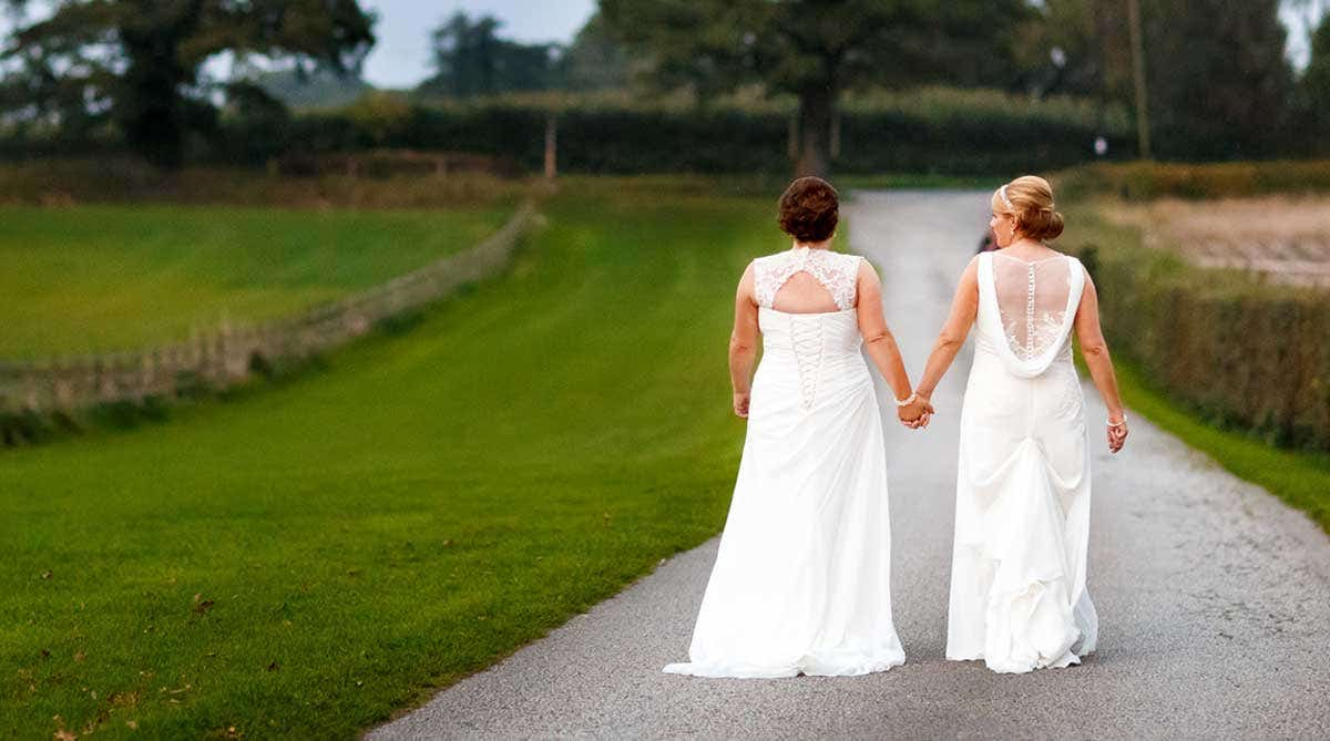 How to personalise your wedding dress…
