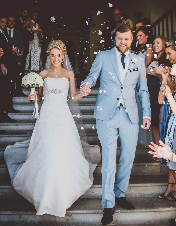 aa4741260e2 Unique wedding dresses - Natalie Pitt wearing 1215