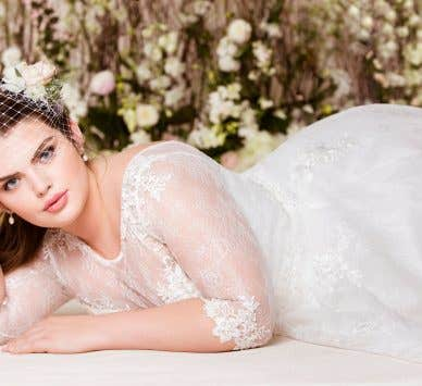 Introducing Bellami - our beautiful plus size wedding dress collection