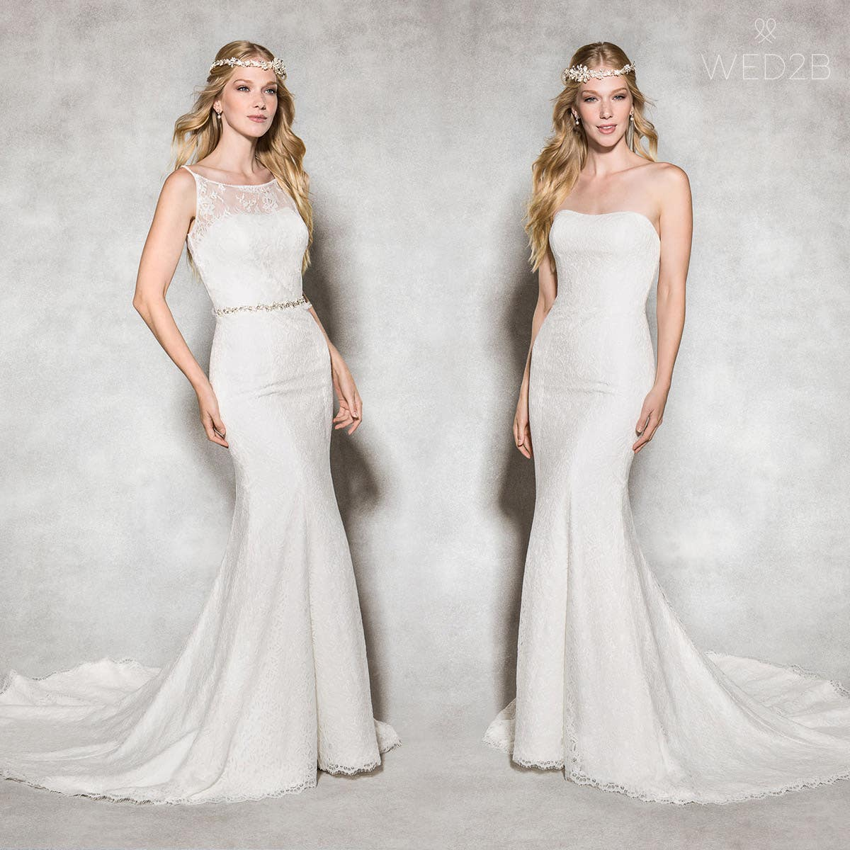 Savanna mermaid wedding dress