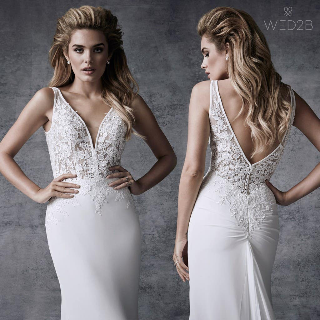 Mermaid wedding dress Demi