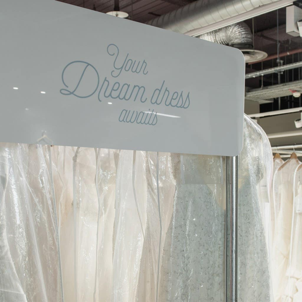 Take your dream wedding dress home the same day