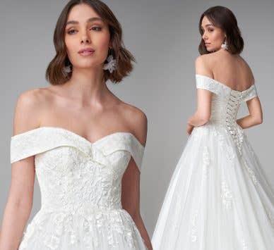 Spotlight on… princess wedding dresses