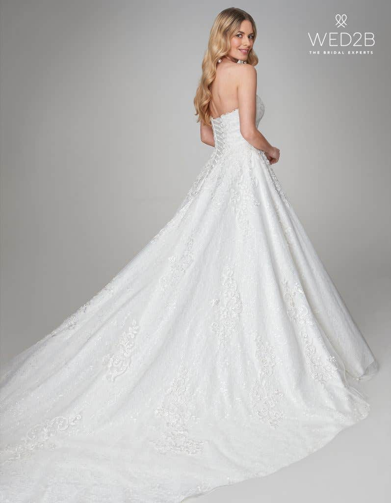 April princess wedding dress by Viva Bride