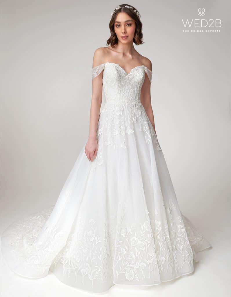 Beata princess wedding dress by Viva Bride