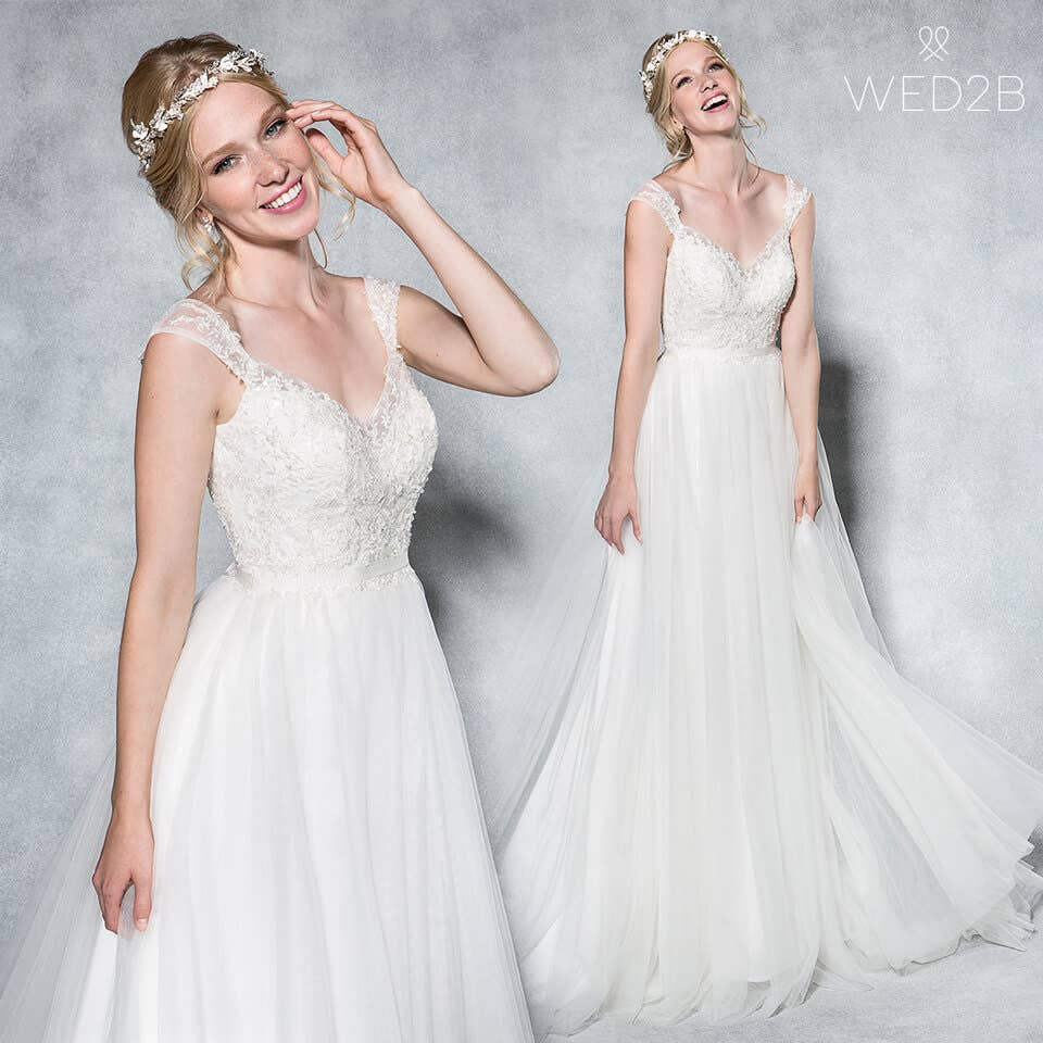 the wedding dress styles guide… for petite brides  wed2b