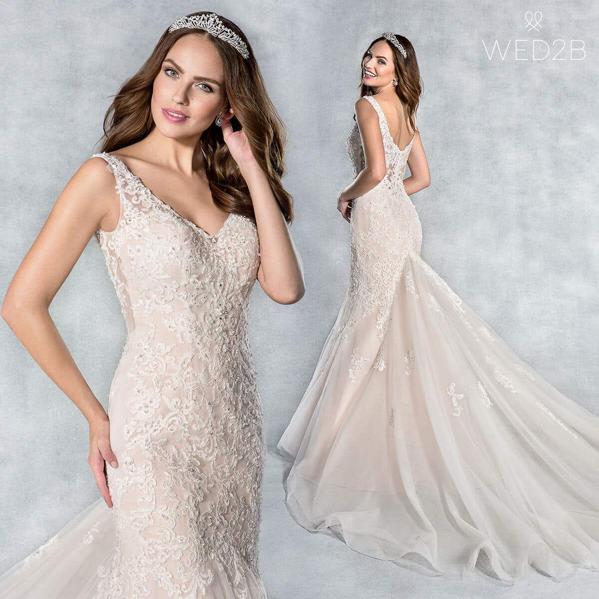 Camille mermaid wedding dress