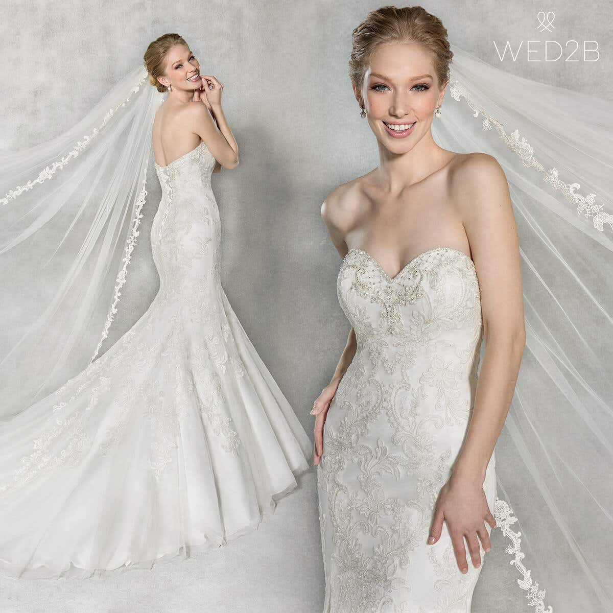 Cassandra mermaid wedding dress