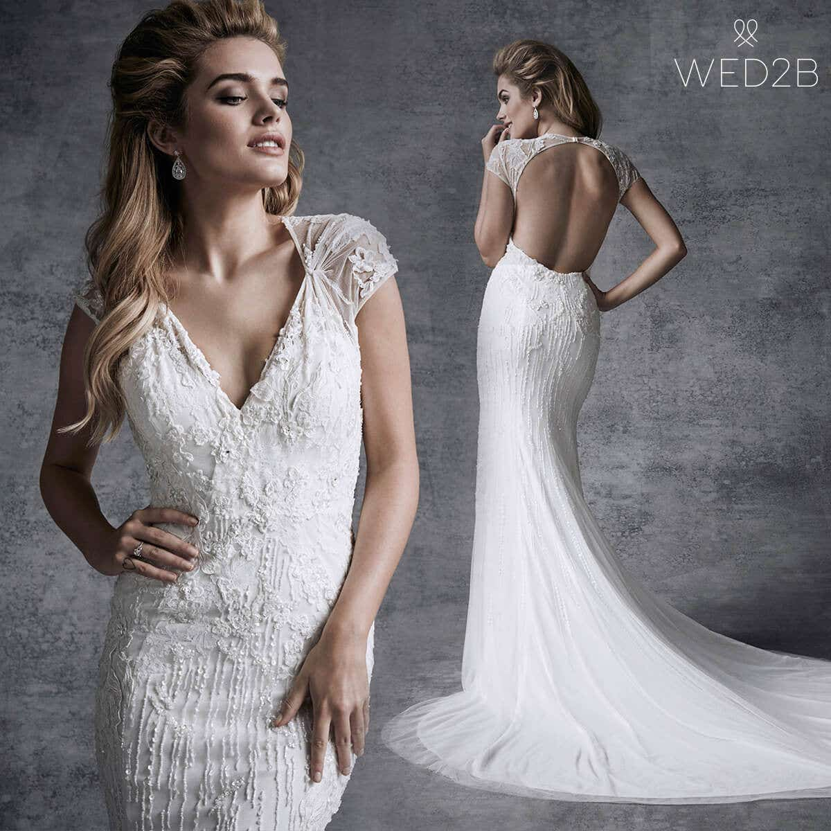 A Wedding Dress Style Guide For Tall Brides Wed2b Uk Blog
