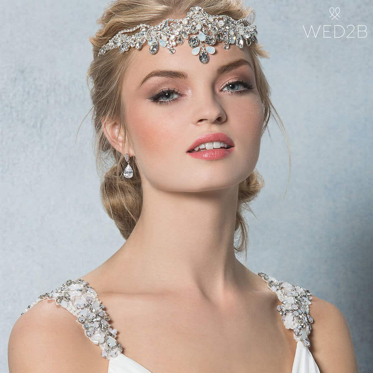 Petra bridal tiara