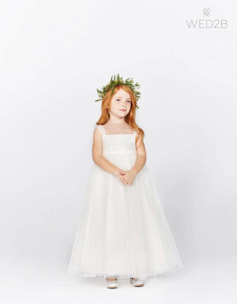 f960067fbf Available for ages 2, 4, 6 and 8, your little ones are going to love  twirling around in their flower girl dresses all day long.