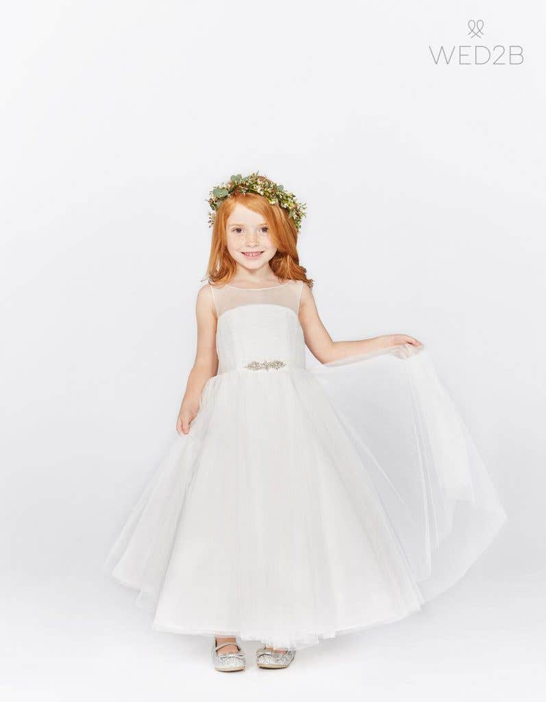 45a70dc089b Our adorable Infinite flower girl dresses