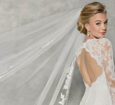 The WED2B guide to wedding veils