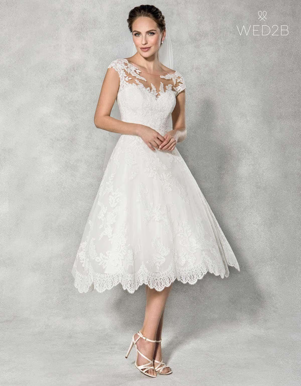 Tea Length Wedding Dresses for Guest