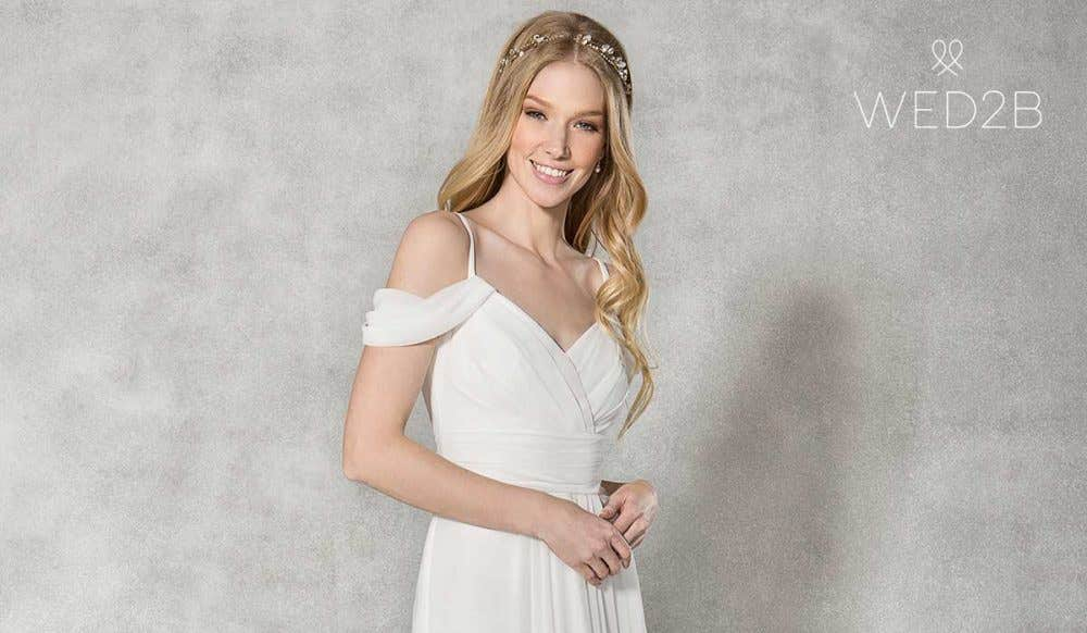 Revealed… the perfect big day look for less than £250!