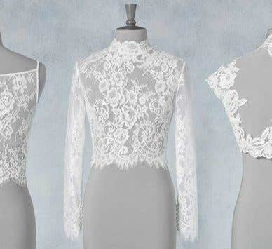 Cute cover ups: wedding jackets to suit every dress
