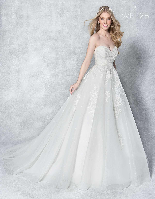 Adorable A-line wedding dresses | WED2B-UK-BLOG