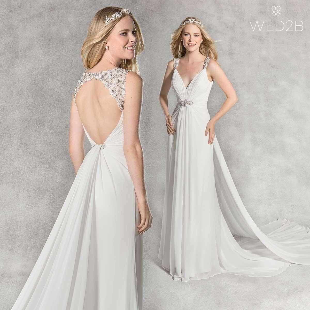beach wedding dress Emelie
