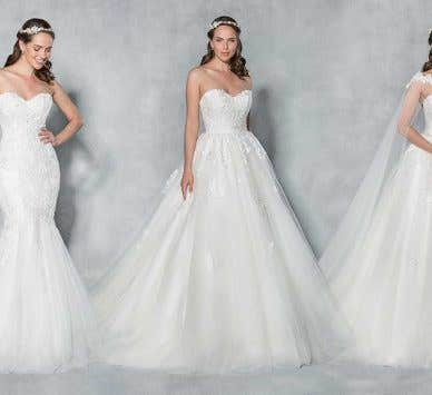 Mix 'n' match our Viva Bride wedding dress to find your unique look!