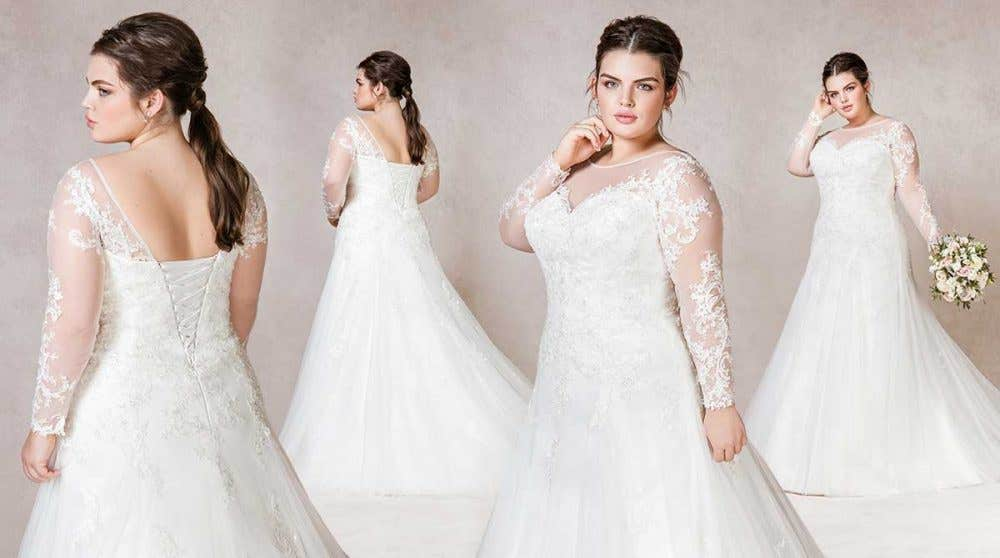 Stunning fit and flare wedding dresses