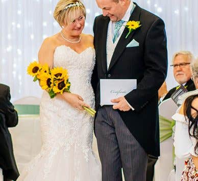 Real Weddings Rotherham: Rebecca and Gary's fun-filled day