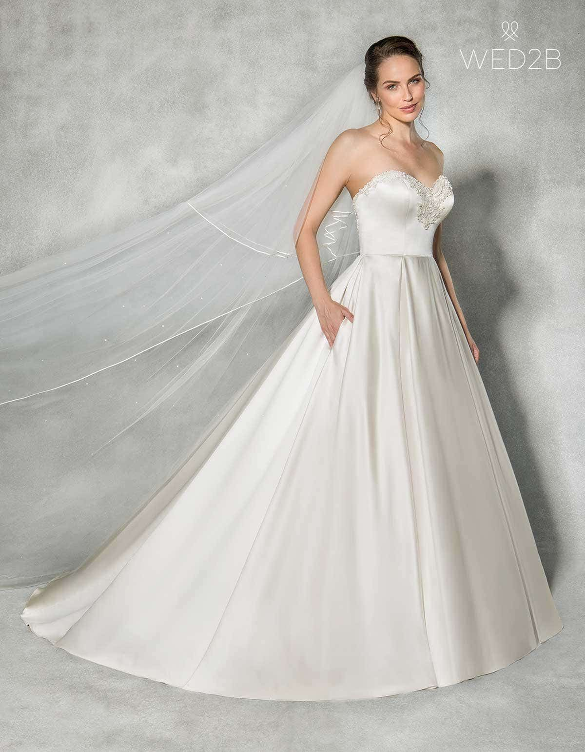 Spotlight on... our new wedding dress with pockets by Anna Sorrano ...