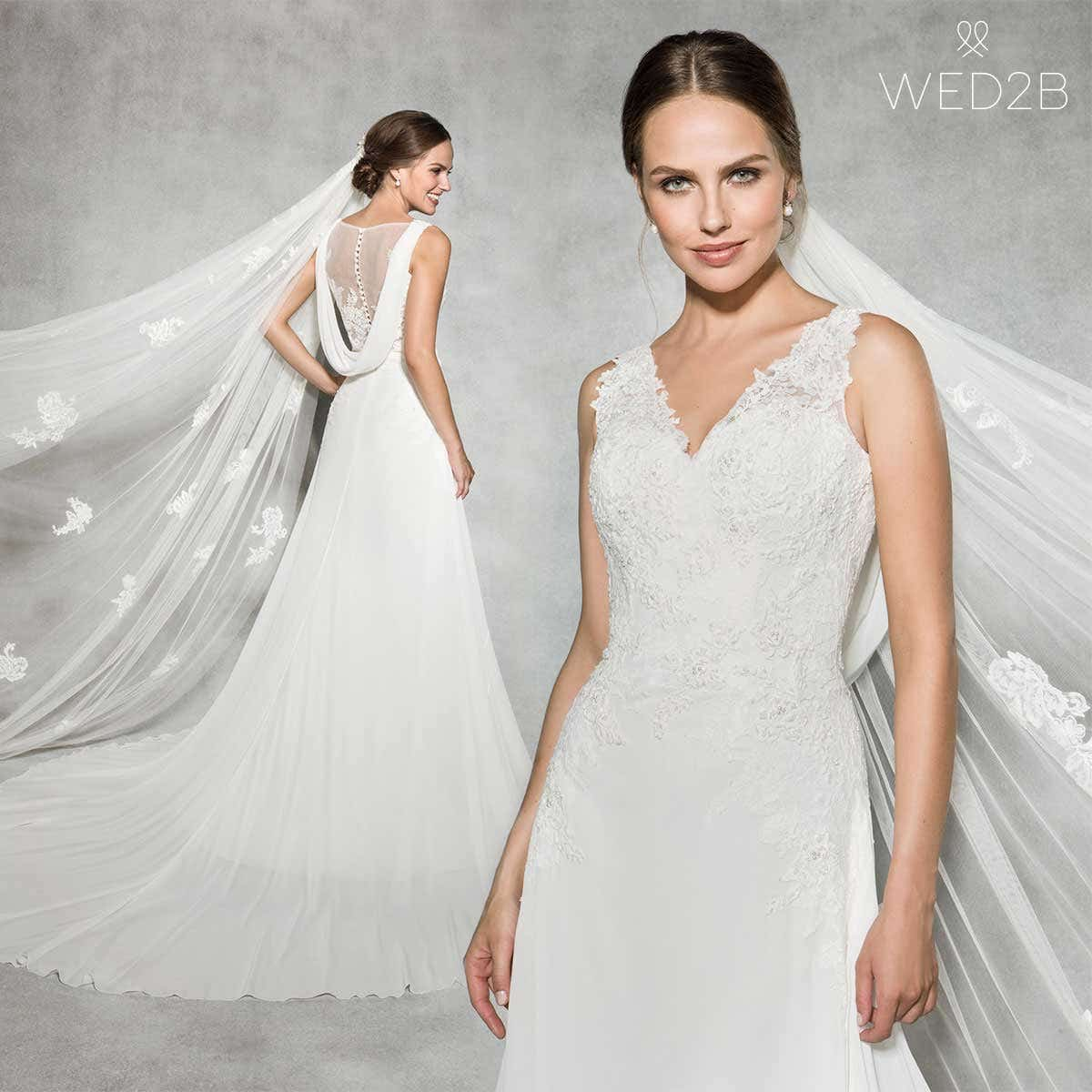 beach wedding dress Elodie