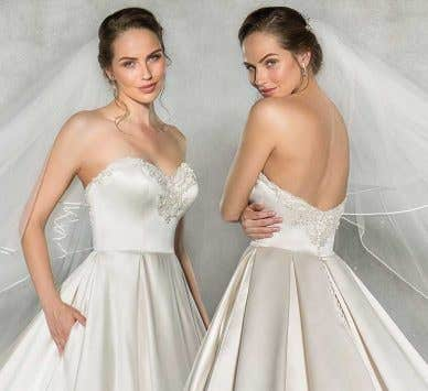Spotlight on... our new wedding dress with pockets by Anna Sorrano